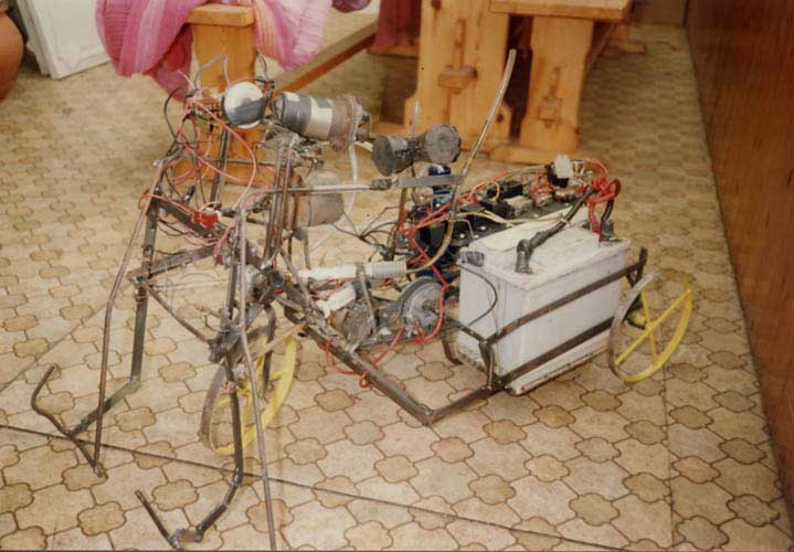 Robotic tricycle 1990's