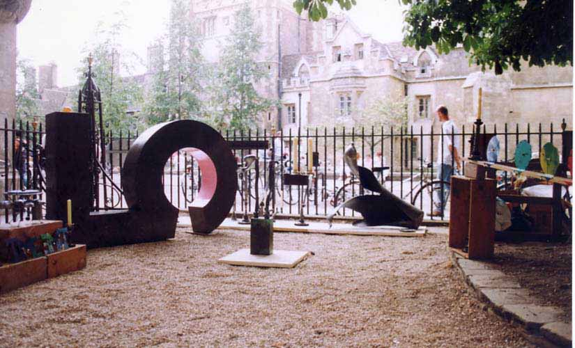 Sculpture exhibition ~1996