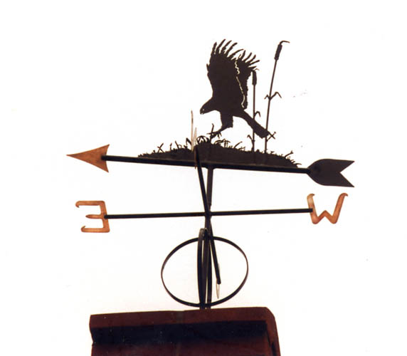 Marsh Harrier Weather vane