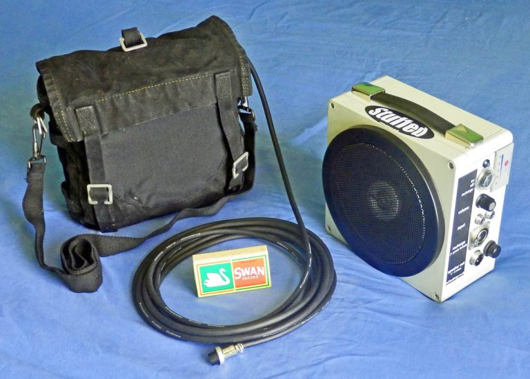 Mk2.5 Stuffed Thing PA system with shoulder bag